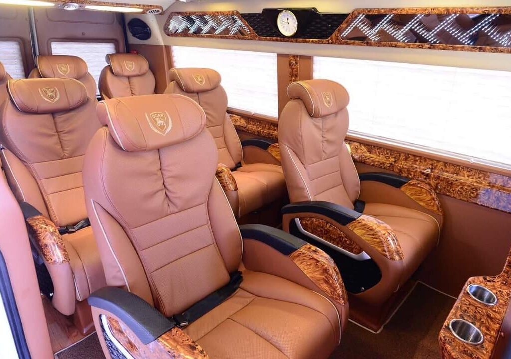 limousine leather seats