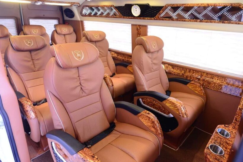 limousine leather seats